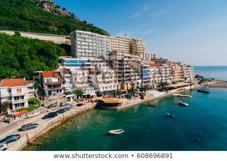 sea and settlement Stock photo © taden