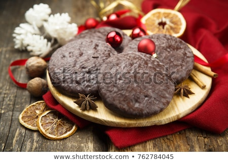 stack of lebkuchen gingerbread cookies Stock photo © Rob_Stark