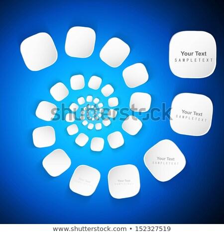 Abstrato elegante círculo tecnologia azul colorido Foto stock © bharat