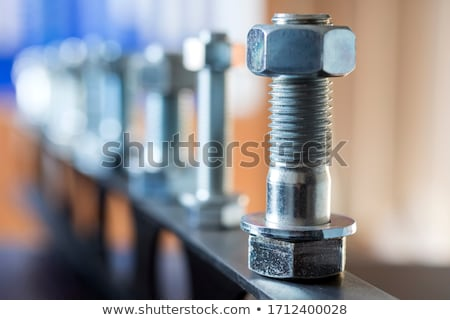 çapa beyaz duvar grup demir Stok fotoğraf © supersaiyan3