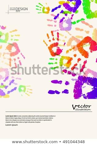Stock fotó: Retro · klasszikus · stílus · szeretet · kezek · kéz