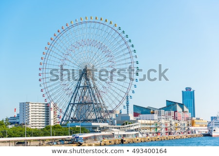 Ferris Wheel - Osaka City in Japan Stock photo © rufous