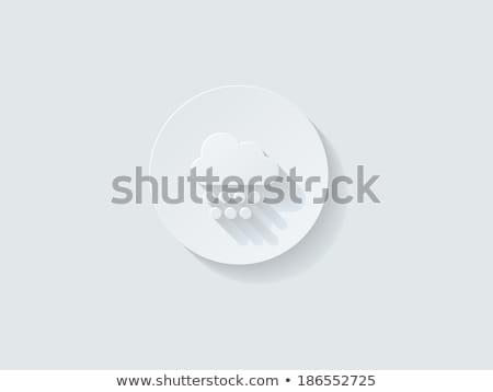 vektor · számítógép · billentyűzet · gomb · tér · ikon · részletes - stock fotó © graphit