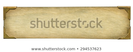 Grunge name plate Stock photo © smuay