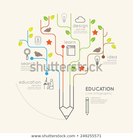 pencil tree concept stock photo © lightsource