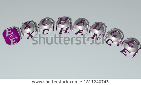 3D Stock Market Dice Message Stock photo © cteconsulting