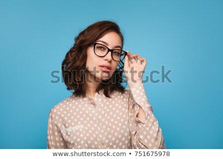 年輕女子 態度 吸引力 時尚 冒充 商業照片 © dash