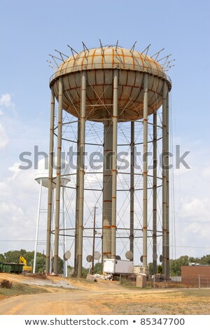 Under construction Water supply Tank Stock photo © ziprashantzi