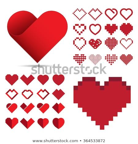 digital · vector · feliz · día · de · san · valentín · boda · celebración - foto stock © slunicko