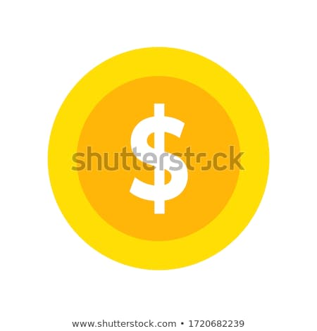 Dolar işareti uçan dolar iş banka pazar Stok fotoğraf © mgborhan