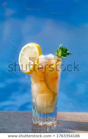 オレンジ · 石灰 · ジュース · スプラッシュ · 抽象的な · 波 - ストックフォト © rob_stark