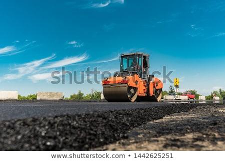 strada · lavoratore · strada · caldo · tar · costruzione - foto d'archivio © smuki
