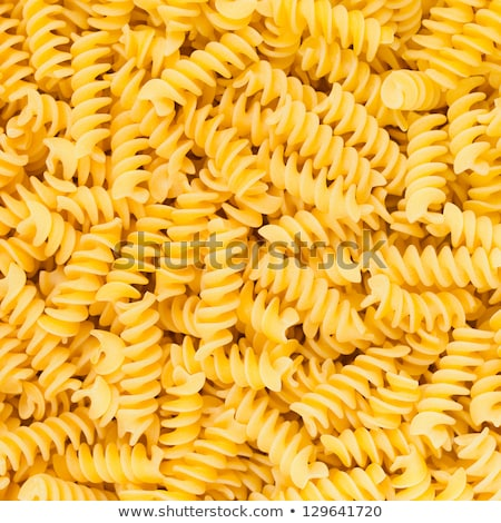 Background texture of Italian rotini pasta Stock photo © ozgur