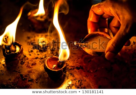 свечей · храма · люди · сжигание · христианской · Церкви - Сток-фото © romitasromala