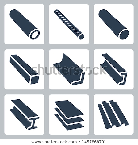 vector metal icon Stock photo © Pinnacleanimates