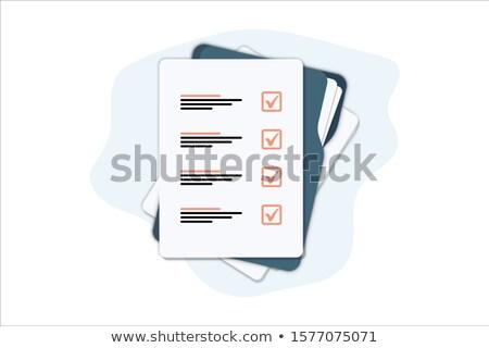 feedback write on folder stock photo © fuzzbones0