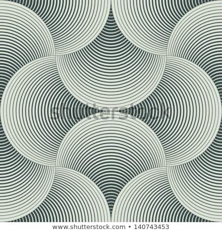 Abstrato geométrico ilusão papel textura Foto stock © balabolka
