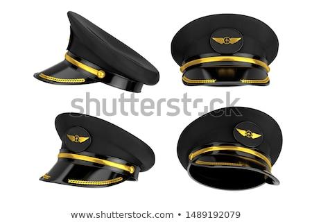 schip · uniform · cap · geïsoleerd · witte · vector - stockfoto © leonardo
