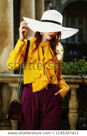 Model fashion Stock photo © netkov1