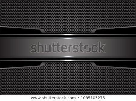 Stock fotó: Acél · net · textúra · építkezés · fal · absztrakt