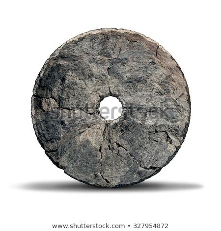 Pedra roda objeto cedo invenção era Foto stock © Lightsource