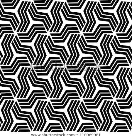 Silver Moroccan seamless pattern on black Stock photo © adamfaheydesigns