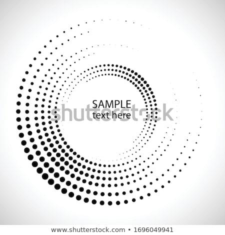 ベクトル サークル パターン デザイン 背景 フレーム ストックフォト © alexmakarova