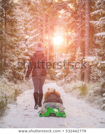 menino · enterrado · praia · criança · diversão - foto stock © paha_l