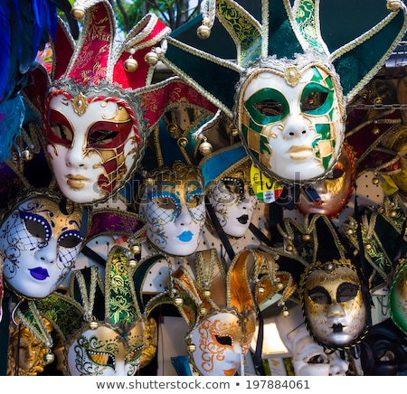Masquerade Venetian masks  on sale in Venice, Italy Stock photo © AndreyKr