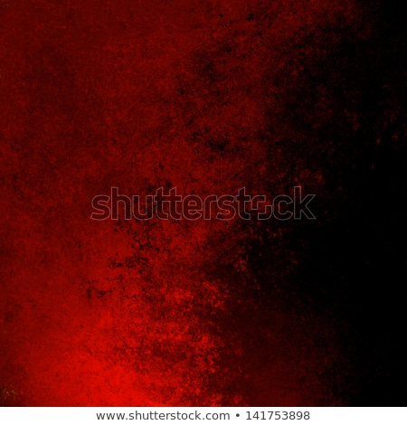 Stockfoto: Brochure With Red And Black Paint Backgrounds