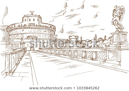 Saint Angelo bridge Stock photo © Givaga