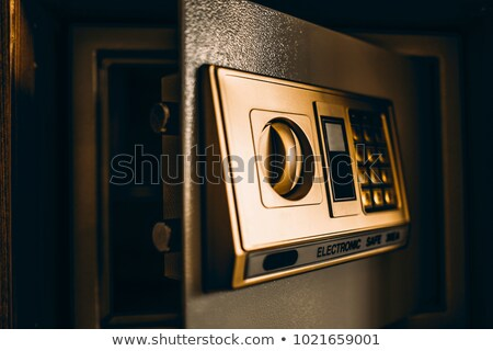 Hotel room safety deposit box Stock photo © stevanovicigor