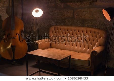 Empty Cello Room Interior Stock photo © rufous