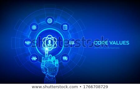 Foto stock: Core Business