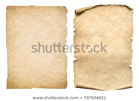 Two design of old parchment papers Stock photo © bluering