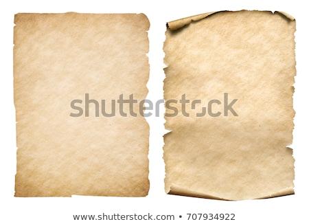 klasszikus · pergamen · kép · művészet · irat · grafikus - stock fotó © bluering
