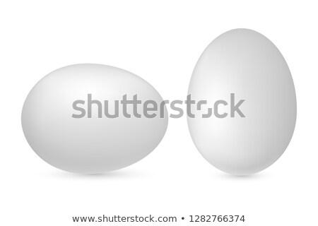 Христос · воскрес · вектора · реалистичный · пасхальное · яйцо · изолированный · серый - Сток-фото © beholdereye