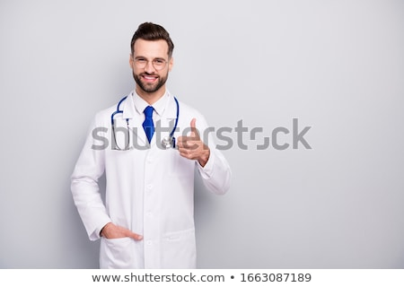 Stock photo: Man tied up isolated on white