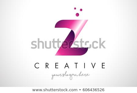 abstract creative dots logo letter Z Stock photo © SArts