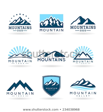 mountain logo stock photo © sdcrea