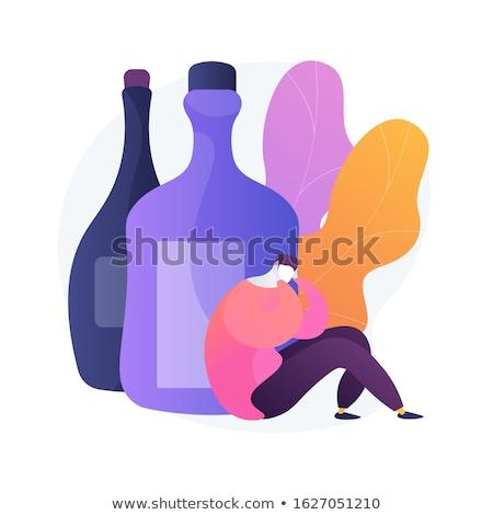 Alcohol Psychology Stock photo © Lightsource