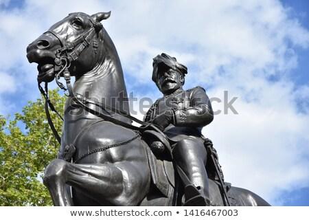 Cambridge estátua inglaterra príncipe segundo Foto stock © kraskoff