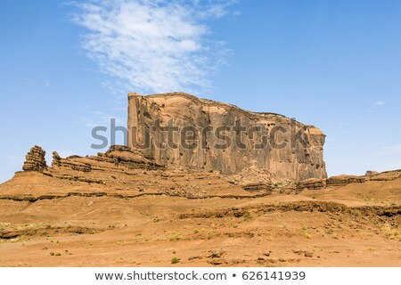 Elephant Butte is a giant sandstone formation in the Monument va Stock photo © meinzahn