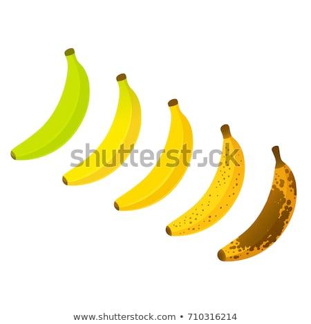 ripe bananas set stock photo © mady70