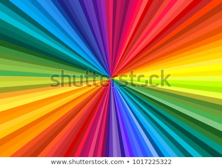 A4 sized abstract rainbow background. Stock photo © pashabo
