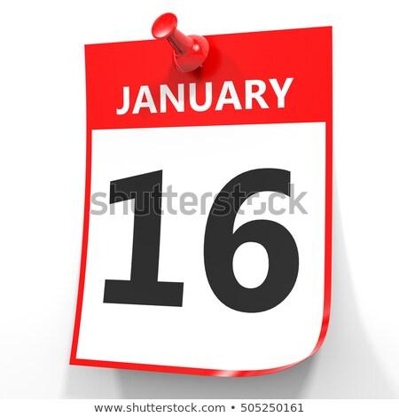 16th January Stock photo © Oakozhan