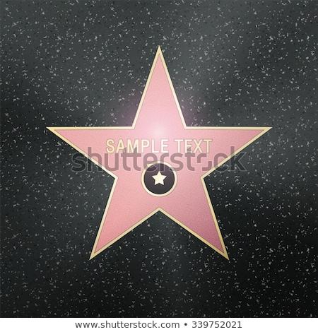 Roem star helling muziek textuur Stockfoto © barbaliss