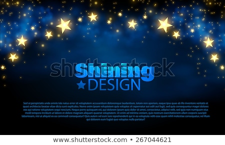 Stock photo: abstract background in the manner of stars