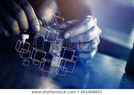 Nieuwe vaardigheden ontwikkeling laptop scherm 3d render Stockfoto © tashatuvango
