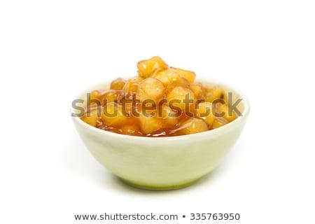 apple pie filling stock photo © stephaniefrey